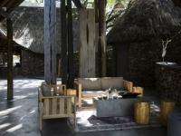 Simbavati River Lodge Outside Lounge