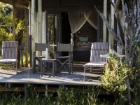 Simbavati River Lodge Tent Deck