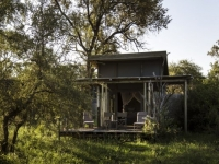 Simbavati River Lodge Tent Exterior