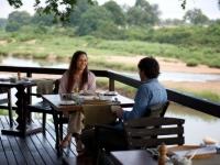 Singita Boulders Dining Deck