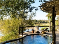 Singita Boulders Pool Deck