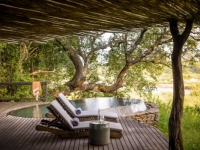 Singita Boulders Pool and Loungers