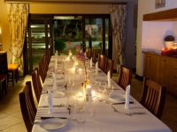 Swartberg Private Game Lodge Dining
