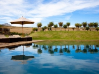 Swartberg Private Game Lodge Pool Area