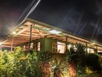 Three Trees Lodge at Night
