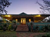 Three Trees Lodge at dusk