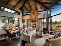 Tsala Lodge Villa Lounge
