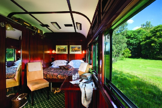 Deluxe Double Suite on Rovos Rail