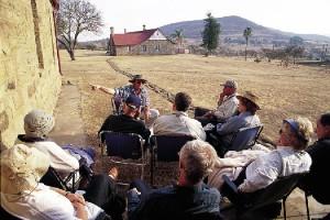 A battlefield tour at the award-winning Fugitives' Drift Lodge in KwaZulu-Natal