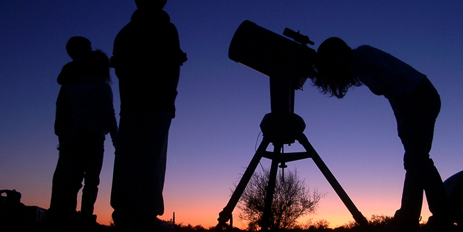 star gazing at Kagga Kamma Western Cape