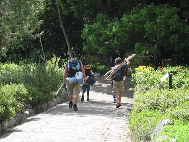 Kirstenbosch HIkers
