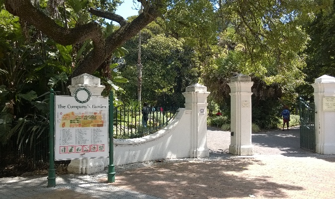 Cpmpany's garden Cape Town Attractions