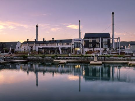 It's been a Page-Turner in the Glossies, and so it would be: The One-of-its-Kind Turbine Hotel and Spa in Knysna