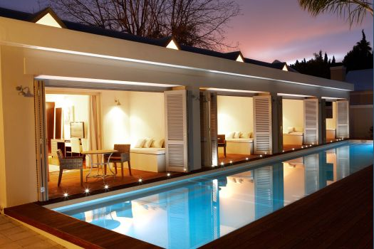luxury accommodation Franschhoek