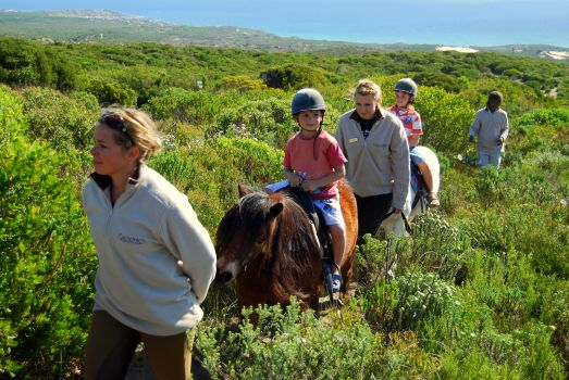 horse riding getaways South Africa