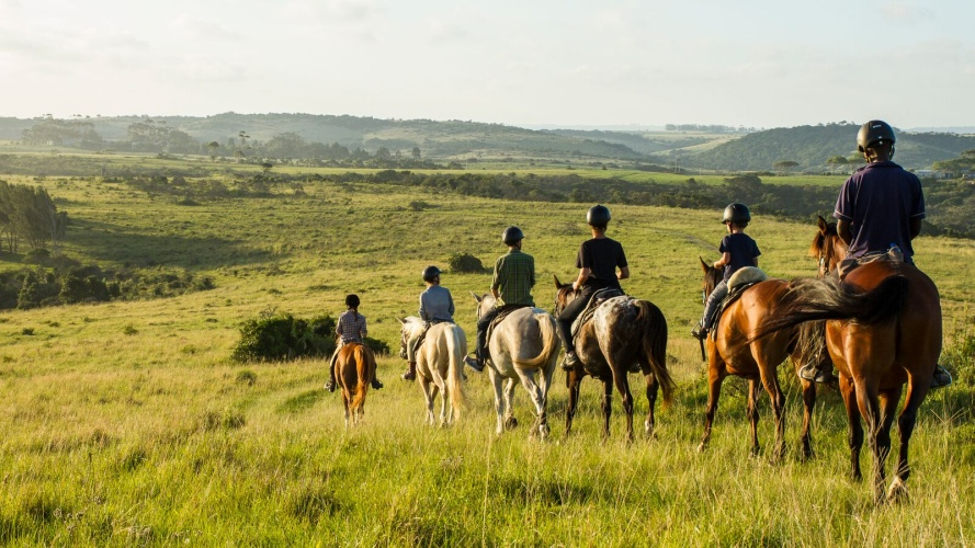 Horse riding holidays South Africa