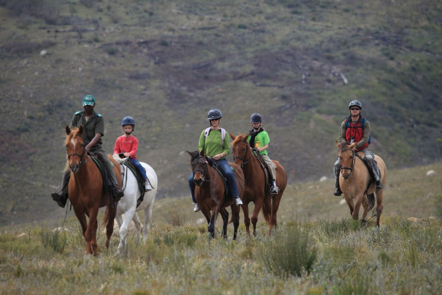 luxury horse riding getaways South Africa