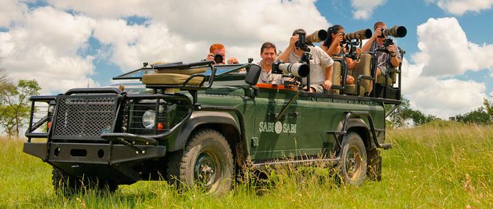 Photographic Safari at Sabi Sabi Exclusive Getaways South Africa