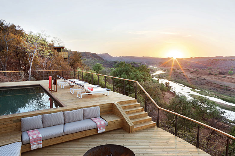 luxury sole use safari accommodation kruger national park South Africa