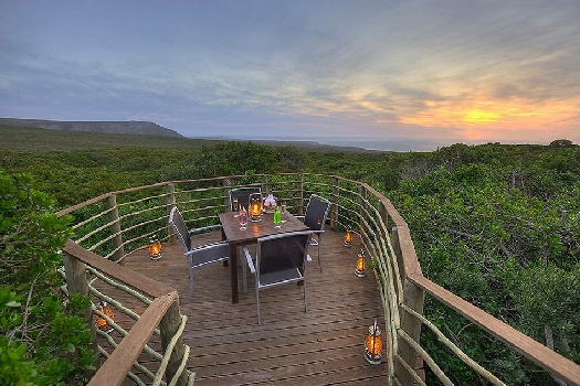 Grootbos is a prime weekend getaway option not far from Cape Town
