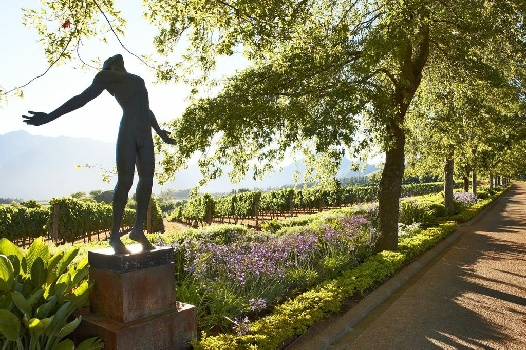 From the Heavens: Super-Fine Luxury Lodges, Wine and Art from the Gods at Delaire Graff in Stellenbosch