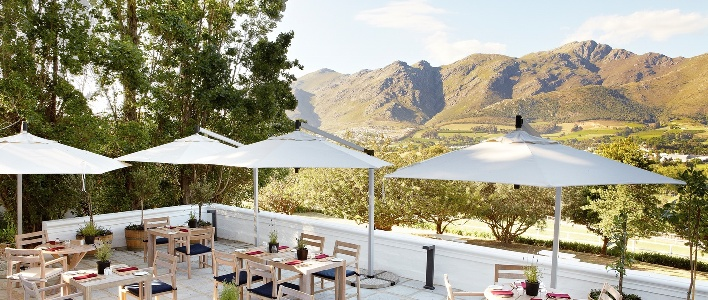 Franschhoek luxury accommodation Mont Rochelle