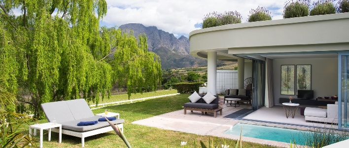 'sleep . eat . drink'  A Grand Getaway to Mont Rochelle in the Cape Winelands