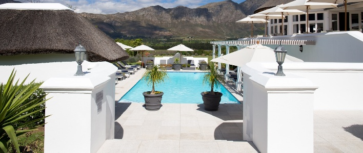Luxury getaways Franschhoek