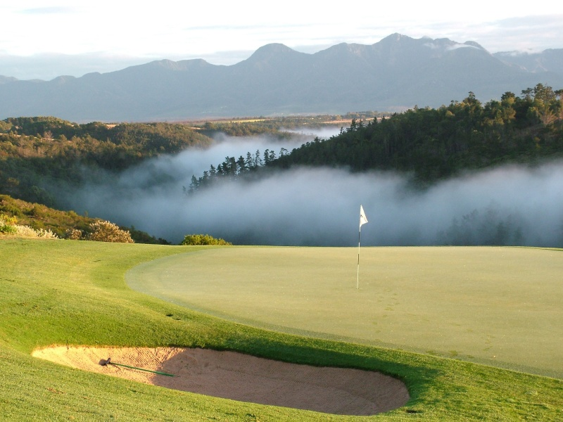 golf hotels garden route