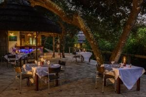 Dining Deck Thonga Beach Lodge