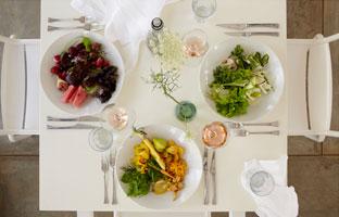 The finest traditional cuisine at babel at Babylonstoren