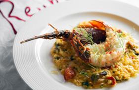 Abalone Rueben's Food