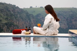 Views from the spa at The Gorge, KwaZulu-Natal