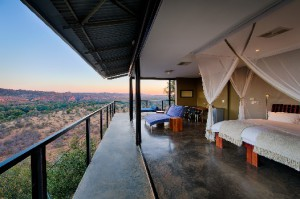 Lookout from a suite at The Outpost, Kruger National Park