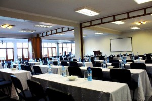 A conference room at Jozini Tiger Lodge KwaZuluNatal