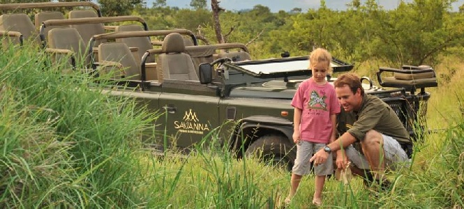The Wilderness is a Wonderland for Young and Old: A Family Safari at Savanna Private Game Reserve