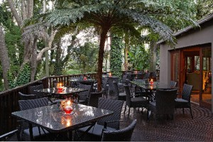 Shangri La Deck Dining