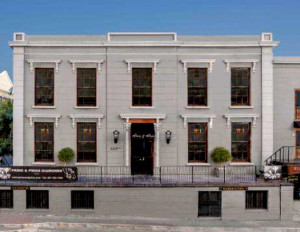 The gracious 18th century Huguenot House is the premises of Prins & Prins Diamonds in Cape Town