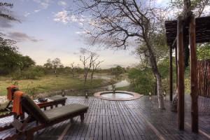 A private splash pool setting: Djuma Private Game Reserve, Sabi Sand