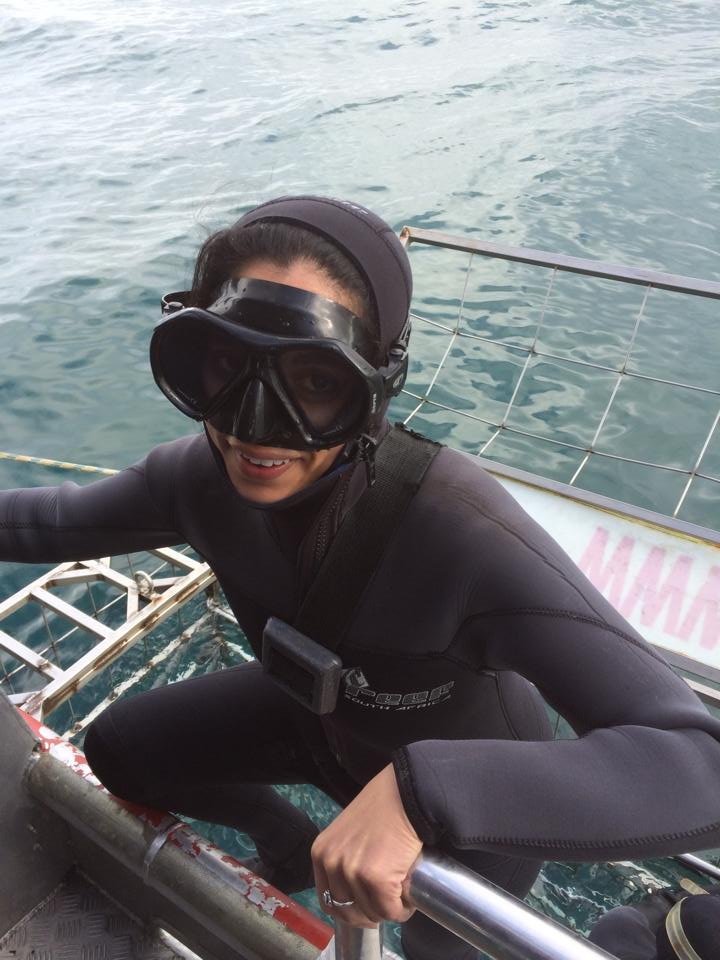 Are You Thinking of Taking the Plunge? We Chat to an Adventurer after her Shark Cage Dive at Gansbaai