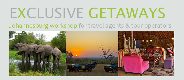 Exclusive Getaways Johannesburg workshop for travel agents and tour operators