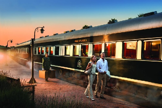 Luxury rail travel in South Africa on Rovos Rail