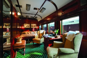Exclusive Suite Accommodation on Rovos Rail