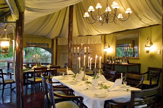 Hamilton's Tented Camp - the good old safari of yesteryear
