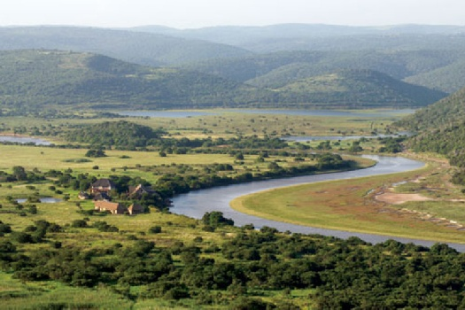 Kariega River Lodge - an unusual setting in the Eastern Cape where Big Five reserve meets the sea