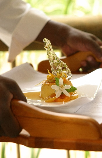 Woodall Country House cuisine Exclusive Getaways