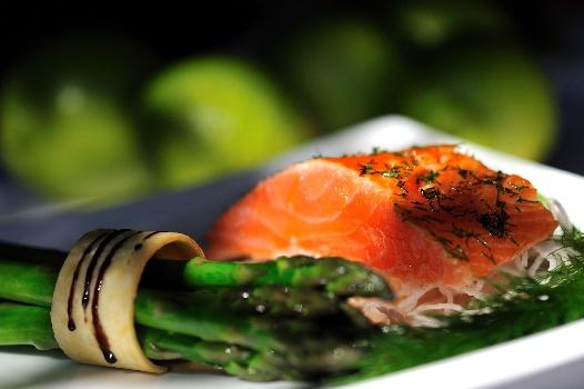 Woodall Salmon Asparagus