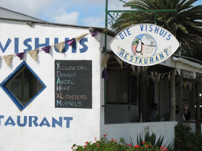 Shops and restaurants in velddrif on Cape West Coast
