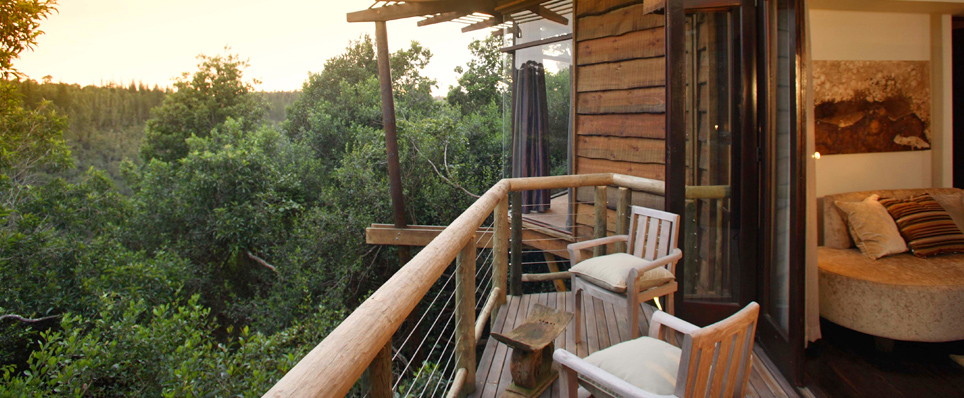 Unique holiday accommodation choices South Africa Tsala Treetop Lodge Garden Route