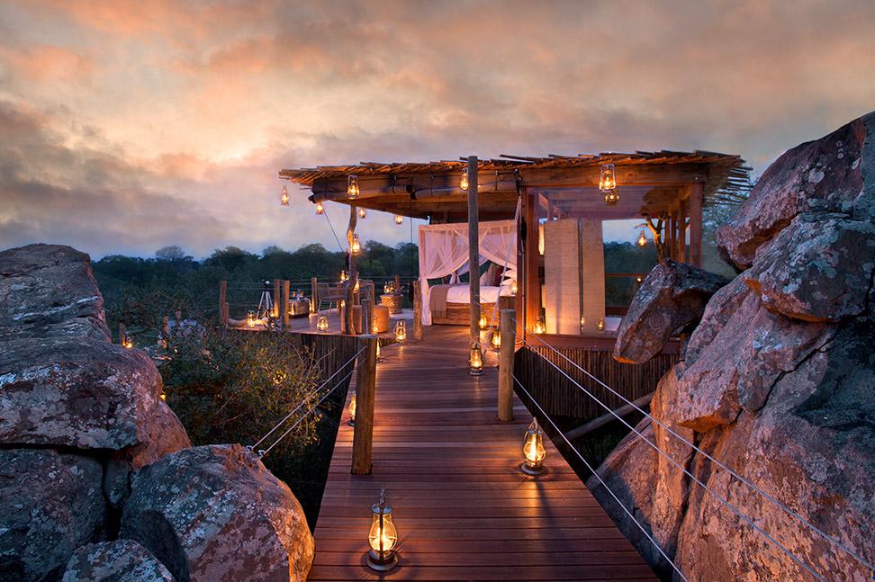 Unique holiday accommodation treehouses sabi Sands Mpumalanga